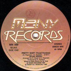 Silver Pozzoli- Pretty Baby (Vinyl,12'') 1987 Italo Disco, Pretty Baby, Silver, Money