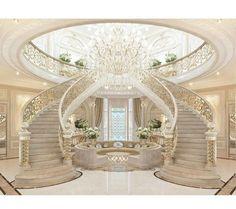 Trendy art deco home interior stairs Ideas Art Deco Home, Home And Deco, Elegant Home Decor, Elegant Homes, Home Design, Interior Design, Luxury Interior, Interior Ideas, Design Ideas
