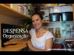 Luisa Alexandra: Despensa • Organização • VÍDEO