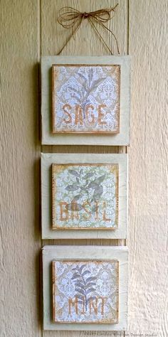 smoothfoam mixed media wallhanging by Candice Windham