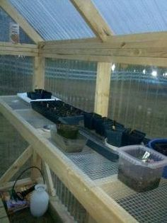 Image result for shelving for greenhouse