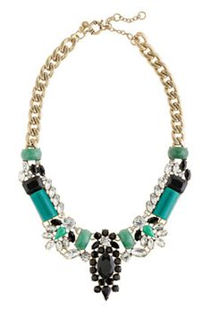 J. Crew statement necklaces are everything...they just are...