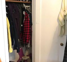 s want an organized closet try this today, closet, organizing