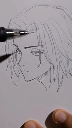 How to draw a manga face-facial propositions