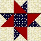 for my patriotic quilt @ DIY Home Cuteness