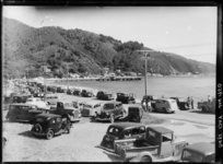 Days Bay, Lower Hutt The Hutt, Old Pictures, New Zealand, Gallery, Antique Photos, Roof Rack, Old Photos