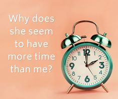 """When we say that someone 'has more time' than someone else, we do not mean that she has literally a twenty-fifth hour in her day,"" notes Robert E. Goodin in Discretionary Time: A New Measure of Freedom. ""Rather, we mean to say that she has fewer constraints, more choices in how she can choose to spend her time & has more 'autonomous control' over her time,"" he explains. ""Our instincts tell us that we'll survive if we have control, so it's our powerful unconscious that keeps us seeking control."