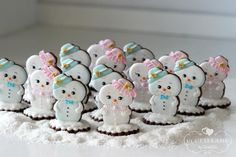 Standing snow baby cookies by Cookieland by ZorniZZa