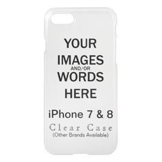 Do It Yourself - iPhone 8/7 Case - birthday diy gift present custom ideas