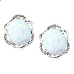Bold Oval Cut Opal Gemstone Diamond Sterling Silver Earrings Gemologica.com offers a unique simple selection of #handmade #fashion #fine #jewelry for #men #women #children to make a statement. We offer #earrings #bracelets #necklaces #pendants #rings #accessories with #gemstones #diamonds #birthstones available in Sterling #Silver 10K 14K 18K #yellow #rose #white #gold #titanium silver #metal. Shop Gemologica #jewellery now for cool cute design ideas