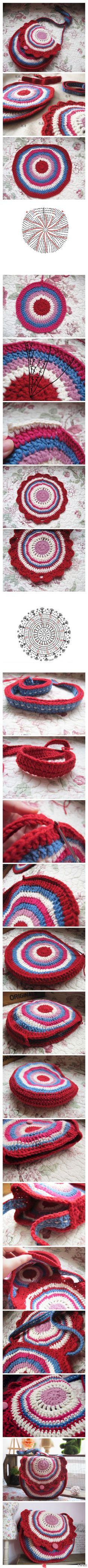 580 best Háčkované tašky, košíky, kabelky, .... (Crochet Bags ...