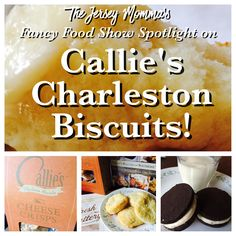 The Jersey Momma: Fancy Food Show Spotlight on: Callie's Charleston Biscuits!