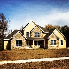 This custom build is nearing completion in Country Club Estates!