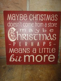 CHRISTMAS DeCoR, ThE GrINcH, HaNd PaiNtEd PriMiTiVe WooD SiGn, OrNaMeNt, HoMe DeCoR, TyPoGrApHy, HoUsEwArEs. $22.00, via Etsy.