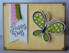 great tutorial for adding a DIY spring to your card