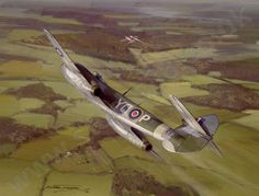 12 best artist aviation michael turner images on pinterest gloster meteor by michael turner a gloster meteor f3 from 616 squadron intercepts a v1 fandeluxe Gallery