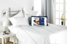 Two, Four or Six Betterdreams Signature Everfull Pillows Hotel Quality Pillows, Support Pillows, Betta, Duvet, Bed Pillows, Pillow Cases, Bedroom, Luxury, Dreams