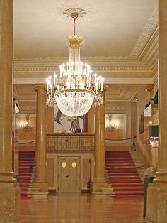 La Fenice Opera House in Venice.  This is where my characters hear a deadly aria.