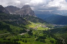 Sassongher, Corvara, Dolomites, Italy, photo