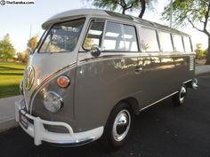 1962 VW 23 Window Safari Bus
