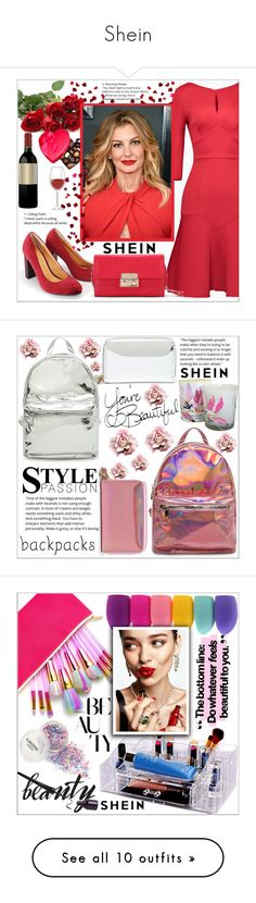 """""""Shein"""" by mujkic-osmic-merima ❤ liked on Polyvore featuring shein, KAROLINA, WithChic, The Body Shop, TONYMOLY, tweed and lilah b."""