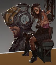 ArtStation - Enhanced V2.0, John Grello | Cyberpunk