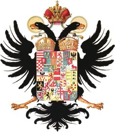 coat of arms Kaiserin Maria Theresia Kaiser Karl, Kaiser Franz, Knight In Shining Armor, Crests, Coat Of Arms, Rooster, Badge, History, Noblesse