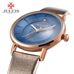 (37.79$)  Watch now - http://ai383.worlditems.win/all/product.php?id=32795921464 - Promotion Julius Watches Fashion Business Women Leather Strap Japan Quartz Movt Original Designer Clock Relogio Relojes JA-921