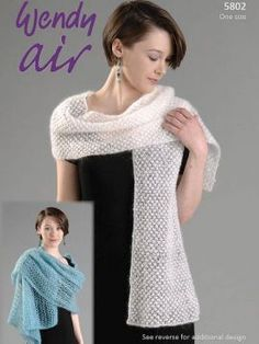 Wendy 5802 Wrap, Stole And Shawl