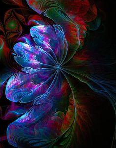 Flamenco - fractal art by Amanda Moore