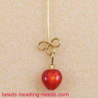red heart earrings (wig jig???)