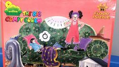 Perfect for a Big Comfy Couch Fan! The Big Comfy Couch, Floor Puzzle, Puzzles, Flooring, Christmas Ornaments, Usa, Holiday Decor, Vintage, Children