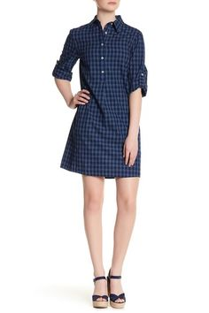 Collared Shirt Dress by Max Studio on @nordstrom_rack