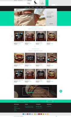 #pulseiras #masculino #moda #commerceplus #lojavirtual #ecommerce #layout #webdesign #mediaplus