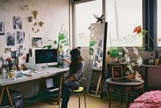 In Home Art Studio | ... for any artists or art worker creating an art studio at home becomes a