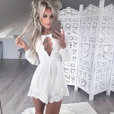 White Homecoming Dresses, Lace Bodice Homecoming Gowns, Lace Homecoming Dress, Mini Short Cocktail Dress sold by loverlovebridal. Shop more products from loverlovebridal on Storenvy, the home of independent small businesses all over the world. Sexy Dresses, Sexy Homecoming Dresses, Tight Dresses, Evening Dresses, Short Dresses, Corset Dresses, White Long Sleeve Dress, White Cocktail Dress, Cocktail Dresses