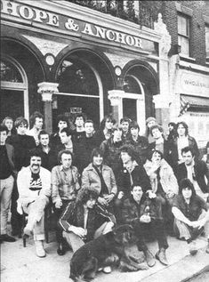 The Hope & Anchor Islington London London History, Local History, London Pictures, London Photos, Vintage London, Old London, North London, East London, Hope Anchor
