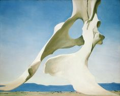 Georgia O'Keeffe  Pelvis with the Distance (1943)