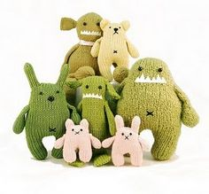 Knitted monsters!
