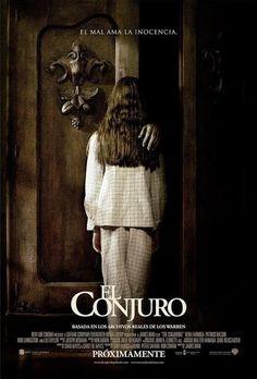 Nuevo póster de El Conjuro, cinta que se podrá disfrutar en cines apartir del 23 de agosto