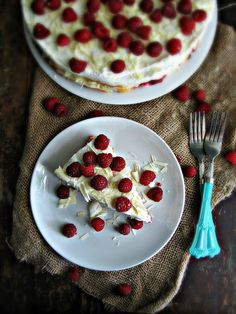 sweetsugarbean: Blush: Raspberry & White Chocolate Tiramisu