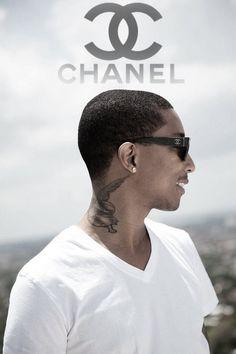 Pharrell 39 s neck tattoo looks good tattoos pinterest for Pharrell neck tattoo