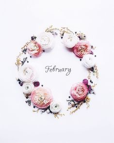 Welcome February ?Always winter but days are longer ? Welcome February ?Always winter but days are longer ? Days And Months, Months In A Year, February Images, Welcome February, January Wallpaper, Mom Planner, Month Flowers, New Month, Flower Backgrounds