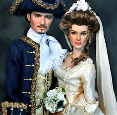 Elizabeth Swan and Will Turner groom