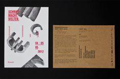 Schrift / Macht / Welten. Typografie und Macht