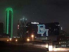 The Omni Dallas Hotel at Park West knows what's up! #SicEmDFW #BaylorCotton