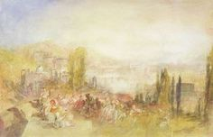 Florence, 1851 Wall Art & Canvas Prints by Joseph Mallord William Turner
