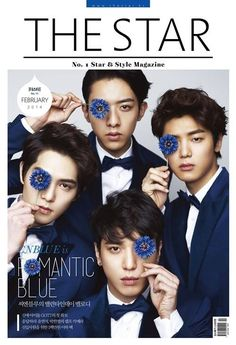 CNBLUE pose in Blue tuxedos + reveal their dating styles | http://www.allkpop.com/article/2014/02/cnblue-pose-in-blue-tuxedos-reveal-their-dating-styles