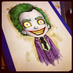 60's Classic Joker By Christopher Uminga