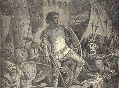 Cnut the Great, son of Sweyn I Forkbeard, King of Denmark (1016-1035) as a concurring Viking king, he won the throne of England in 1016 and united the two countries with wealth and custom, rather than brutality. He also conquered Norway and Sweden.